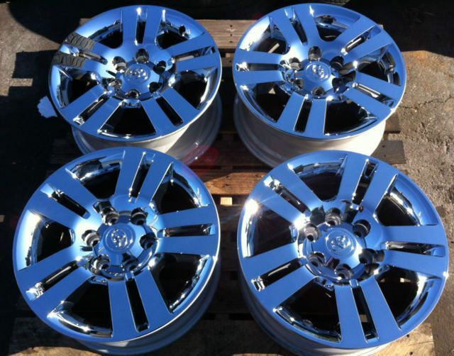 Ford Trucks 2016 >> 2012 Toyota TRD Tacoma Chrome Clad Rims Wheels 4Runner Tundra | Places to Visit | Tacoma wheels ...