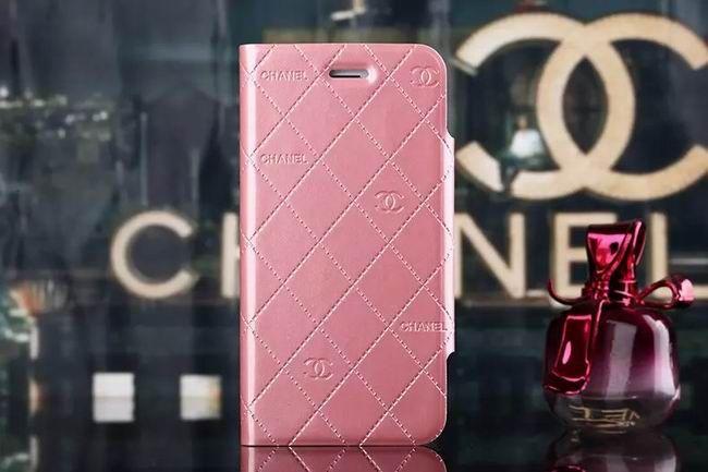 Chanel iphone 6 Case Design Designer Leather Slim Wallet pink