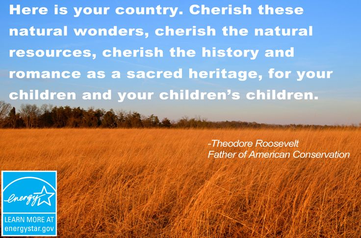 teddy roosevelt quotes about nature