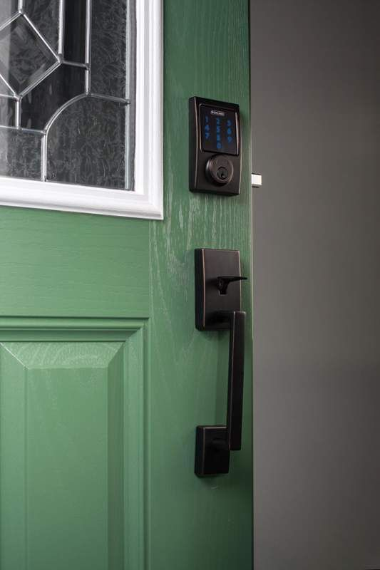 Upgrade your front door with a modern, simple touch screen deadbolt. Never get locked out of the house again!