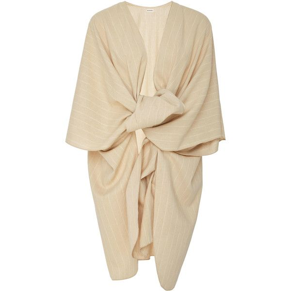 Edira Off The Shoulder Jumpsuit | Moda Operandi ($149) ❤ liked on Polyvore featuring jumpsuits, white scarves, shawl scarves, beige shawl, lightweight scarves and woven scarves