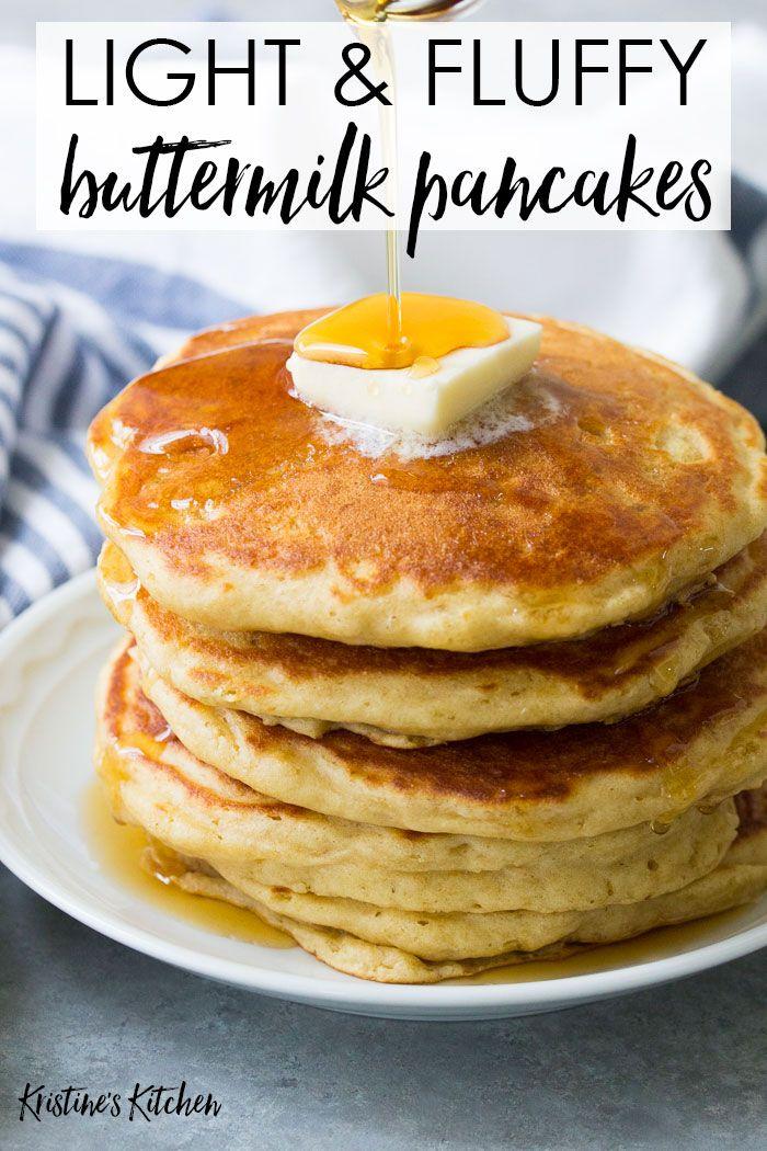 Best Buttermilk Pancakes In 2020 Pancake Recipe Buttermilk Buttermilk Pancakes Fluffy Homemade Pancake Recipe