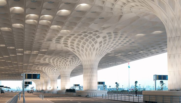 Som chhatrapati shivaji international airport terminal for International architectural firms in mumbai