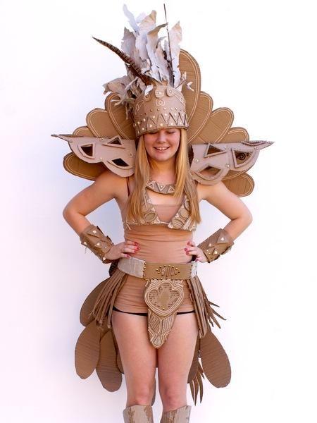Students Design Amazingly Creative Cardboard Costumes - My Modern Metropolis