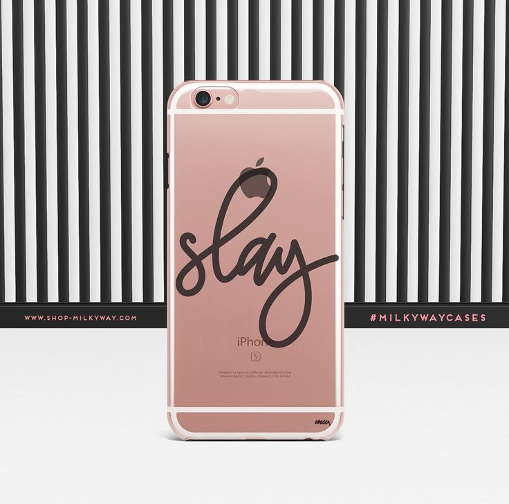 'Simple Slay' - Clear TPU Case Cover – Milkyway
