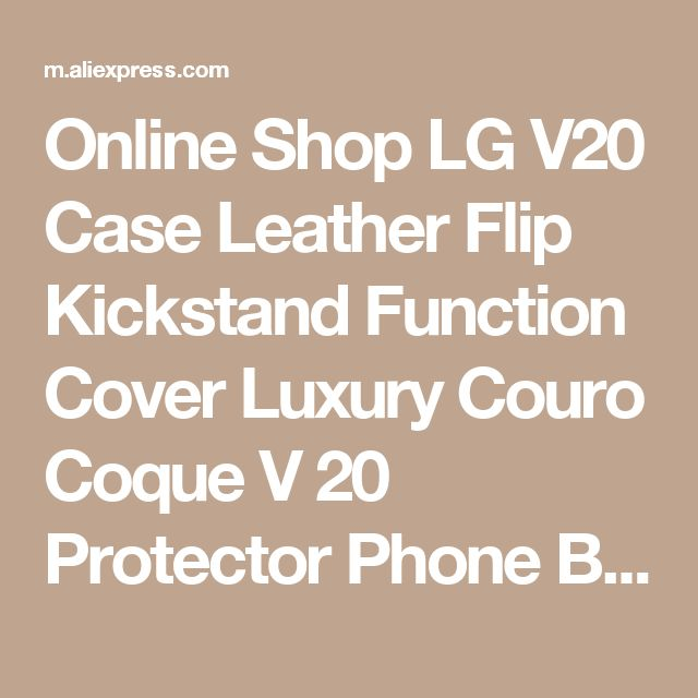 Online Shop LG V20 Case Leather Flip Kickstand Function Cover Luxury Couro Coque V 20 Protector Phone Bag Cases Carcasa Accessory 5.7 Inch | Aliexpress Mobile