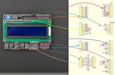 LCD KeyPad Shield For Arduino SKU: DFR0009 - Robot Wiki