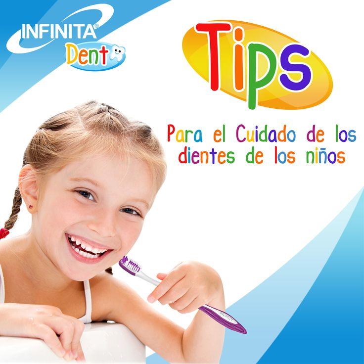 10 Tips para enseñarle a los niños a lavarse los dientes. #infinitaproductos  #salud   #dientes #limpieza