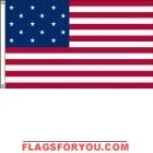 High Wind, US Made Star Spangled Banner (15 Star) Flag 6x10