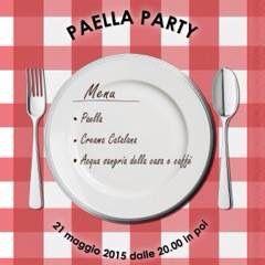 Menù...paella party!!!