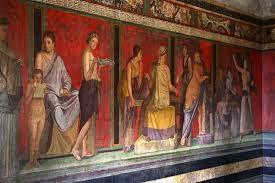 Afbeeldingsresultaat voor romeinse fresco