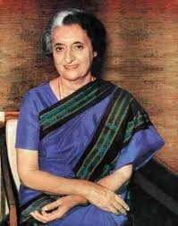 """Indira Ghandi 1917 - 1984 First female prime minister of India. She was in power from between 1966-77 and 1980-84. Accused of authoritarian tendencies,  she only narrowly avoided a military coup by agreeing to hold an election at the end of the """"emergency period"""" of 1977. She was assassinated in 1984 by her Sikh bodyguards, in response to her storming of the Golden Temple."""