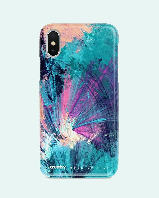 Download Iphone X Plastic Case Mockup Set Plastic Case Stationery Mockup Case