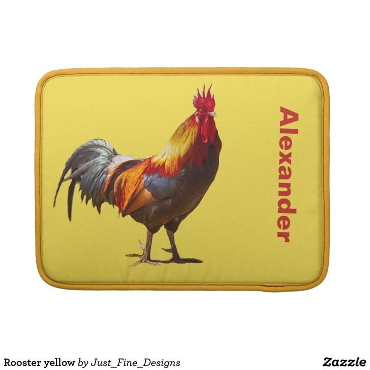 Rooster yellow