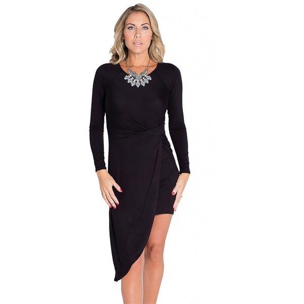 Hip Service Dress via Polyvore featuring dresses