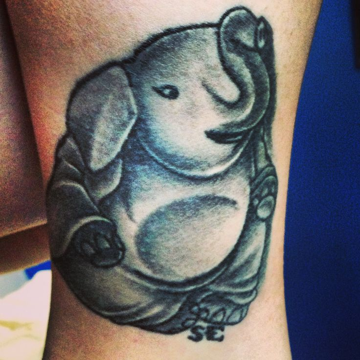 Good Luck Elephant Tattoo: The 39 Best Buddhist Elephant Tattoo Images On Pinterest