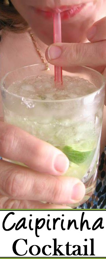 Make a Caipirinha cocktail. This delightfully refreshing and powerfully alcoholic drink is based on cachaca from Brazil.