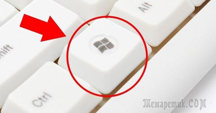 Клавиша WIN – полезные функции