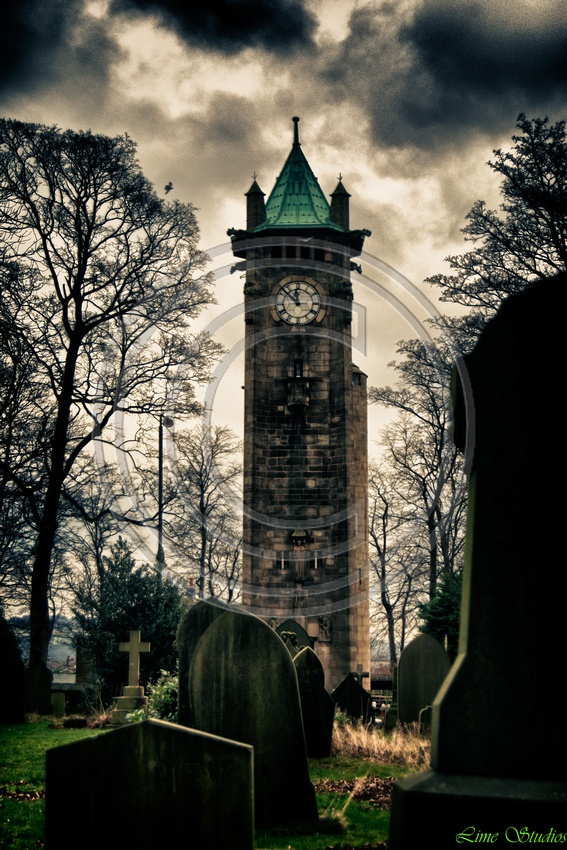 #Clock Tower, #Lindley, #Huddersfield, taken by Lime Studios, Creative Photography