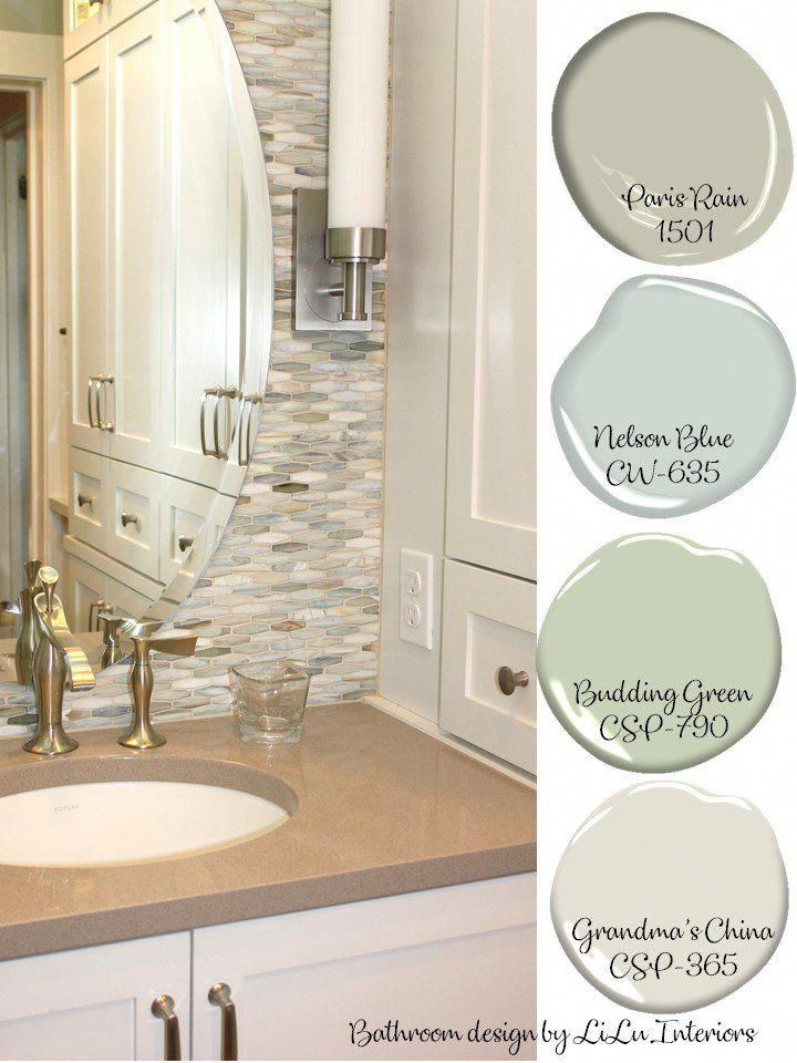 Have A Hard Time Putting Together A Calm Soothing Spa Like Color Palette Here S Some Perfect P Bathroom Colors French Country Bathroom French Country Colors