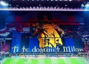 Coreografia nerazzurra Inter vs Milan 6 Maggio 2012