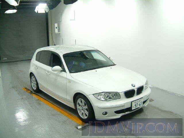 2005 BMW BMW 1 SERIES 118I UF18 - http://jdmvip.com/jdmcars/2005_BMW_BMW_1_SERIES_118I_UF18-aQFVPIZlAcnjf1-80267