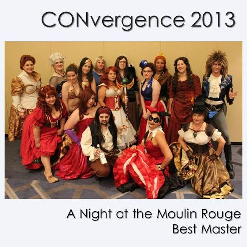 CONvergence 2013: A Night at the Moulin Rouge - Geeky Can Can - Brilliant!