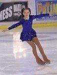 Alexandra de Hanovre aux championnats de patinage artistique de Monaco