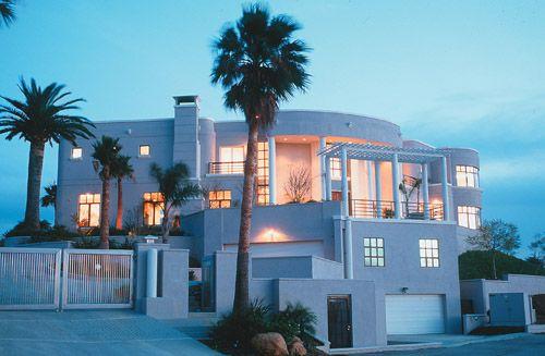 modern in Malibu.  Great view decks!