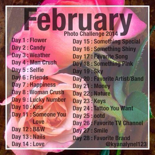 February photo challenge 2014