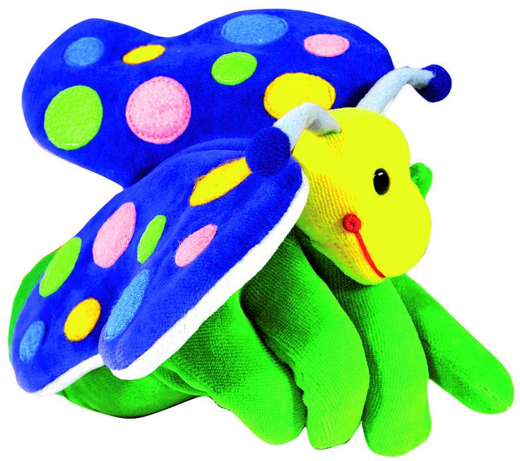 MARIONETA DE MANO MARIPOSA (10,70 €) http://www.babycaprichos.com/marioneta-de-mano-mariposa.html