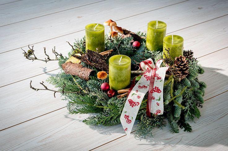 10 sprawdzonych sposobów na stroiki bożonarodzeniowe