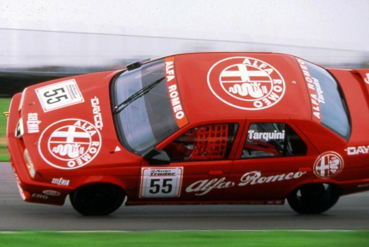 BTCC Alfa Romeo 155 Donington Park Gabriele Tarquini 1994 - Dukes of Hazzard styleee