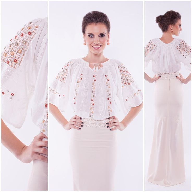 Be unique! Be special! #romanianblouse #romanianlabel