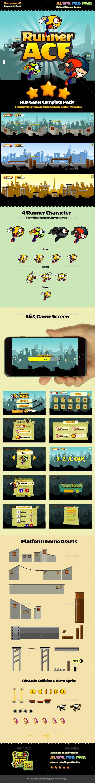 Run Game Kit - Game Kits #Game #Assets | Download http://graphicriver.net/item/run-game-kit/10378499?ref=sinzo