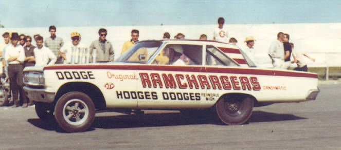 Ramchargers at Detroit Dragway Be there! Be There!