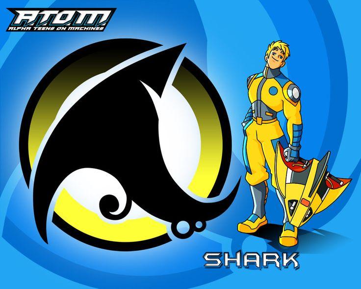Alpha Teens On Machines A.T.O.M. (Shark)