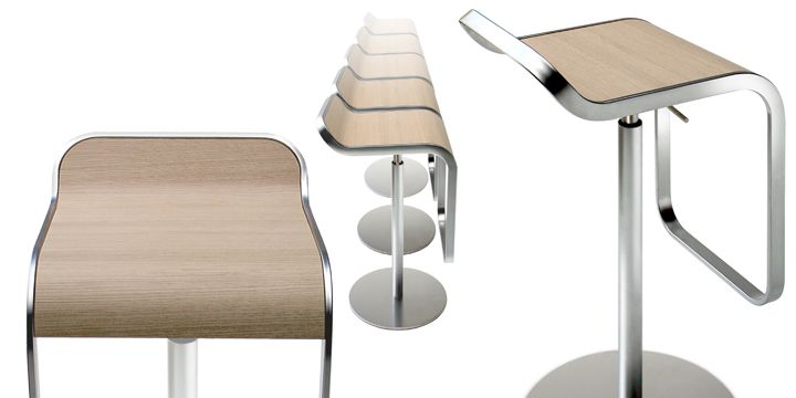 Футуристская мебель Lem от архитектурной мастерской La Palma