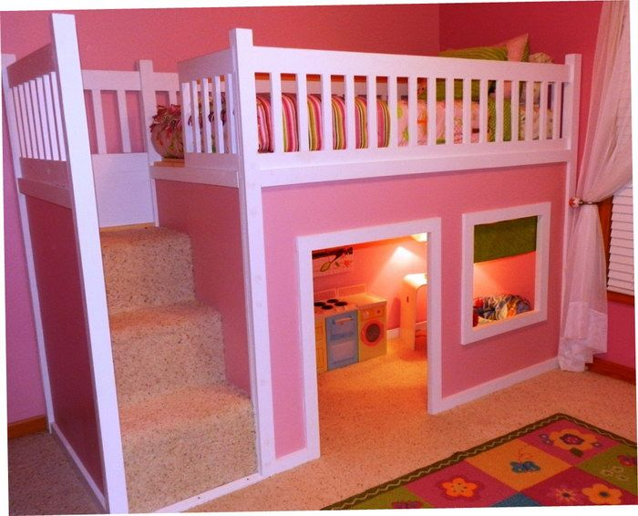 Cheap beds girls bunk beds and beds for girls on pinterest - Awesome beds for teenagers ...