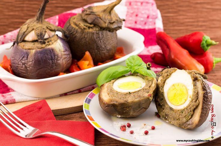 My Cooking Idea. Ricette di cucina vegetariana, vegana, dolci e dessert.: Melanzane ripiene con uovo