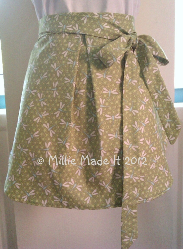 Fat quarter apron