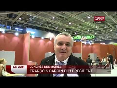Politique - Congrès des Maires de France : François Baroin élu président - http://pouvoirpolitique.com/congres-des-maires-de-france-francois-baroin-elu-president/