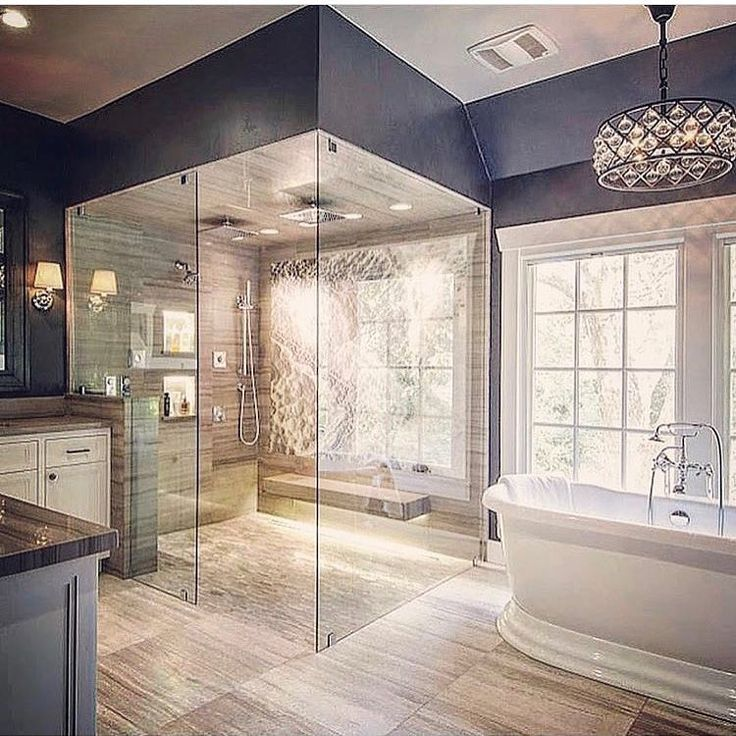 incredible bathroom paint color - find more painting ideas at www.franklinpainting.com