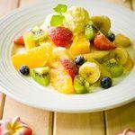 リゾートキッチン ロイヤルハワイアン - 料理写真:フルーツたっぷりパンケーキ