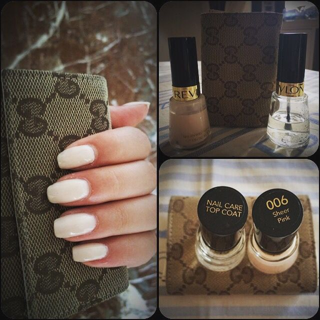 That's style   Natural nails color