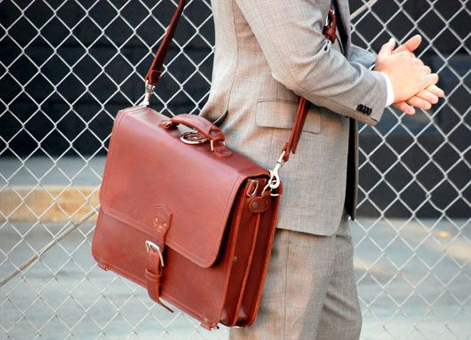 perfect briefcase, saddleback leather co