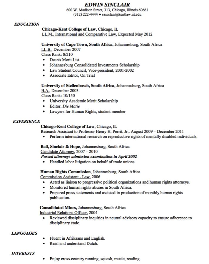 Associate Attorney Resume Prepossessing Example Of Hr Finance Management Resume  Httpexampleresumecv .