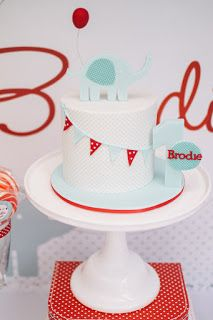 Utterly Organised: Brodie's Elephant Themed 1st Birthday Party