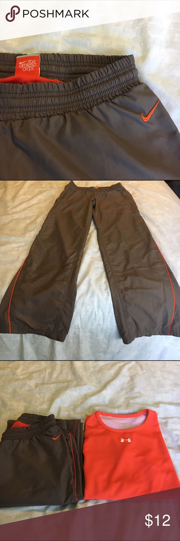 Nike Jogging Pants Nike Jogging Pants. Worn Once. Size XS. Coral accents Nike Pants Track Pants & Joggers