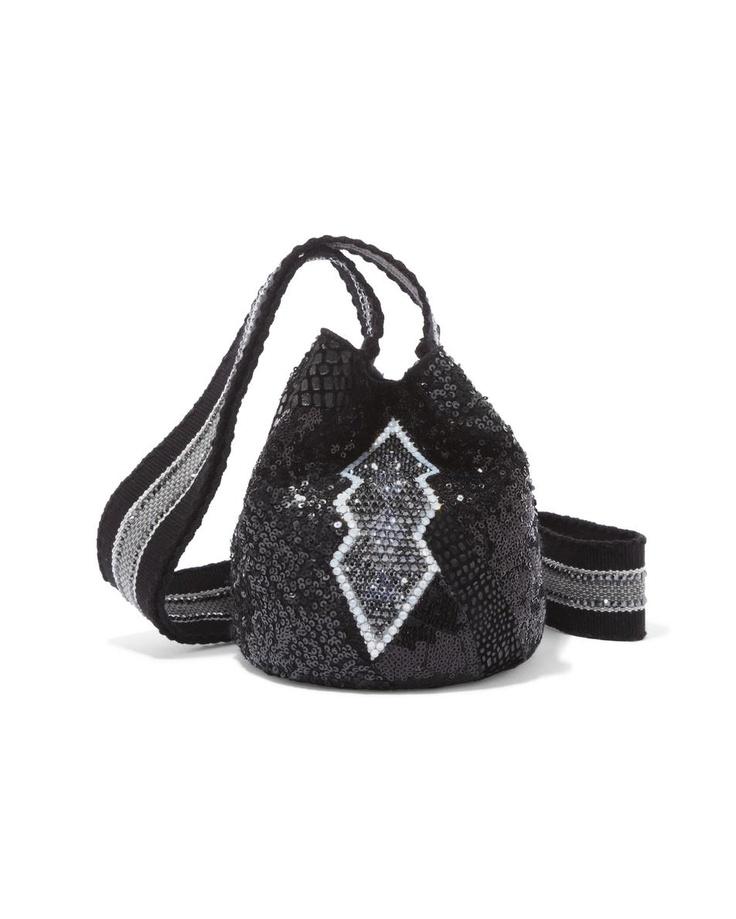 #lace Lique Mochila £915.00 Silvia Tcherassi at COUTURELAB